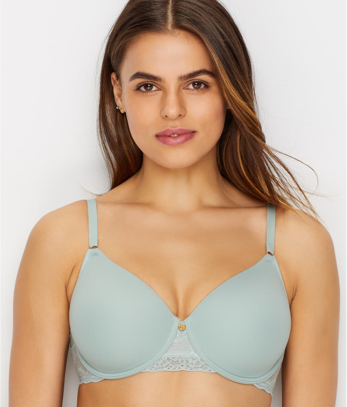 709b01368e847e See Bliss Perfection T-Shirt Bra in Pear