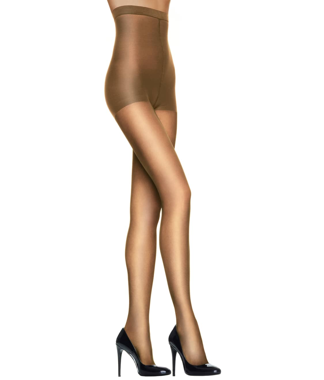 74d02b038cf See Silk Reflections High-Waist Control Top Pantyhose in Little Color