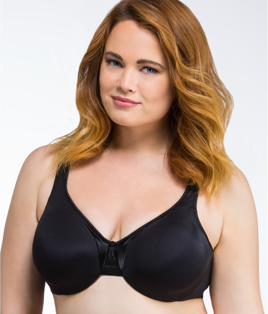 dae3f863fd3 See Signature Support Satin Bra in Black