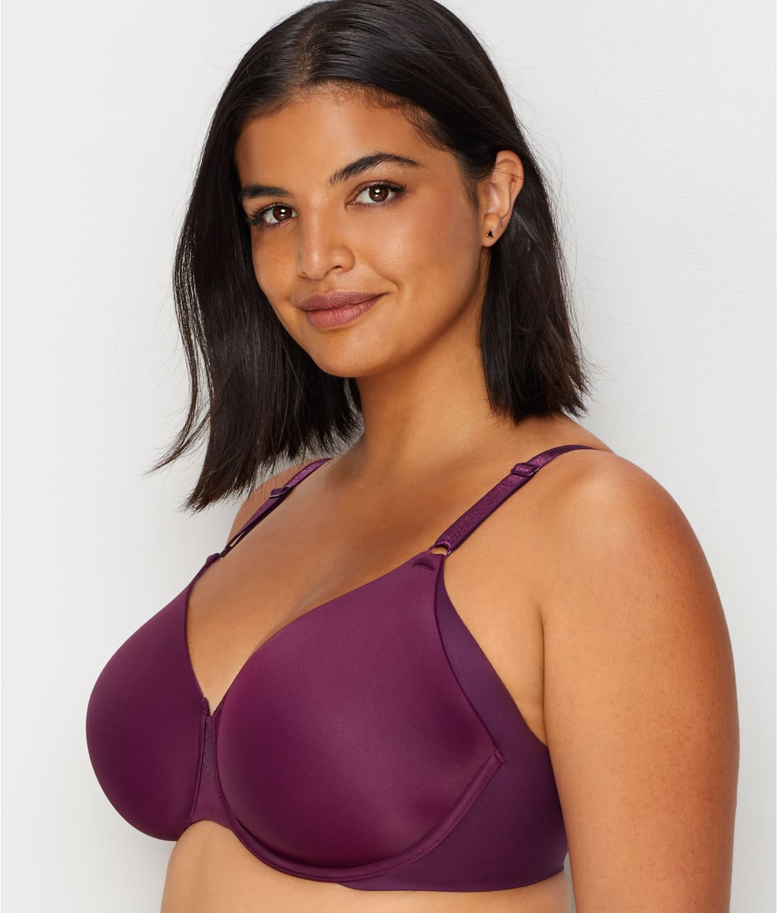 bf2ef9f620958 See No Side Effects™ T-Shirt Bra in Potent Purple