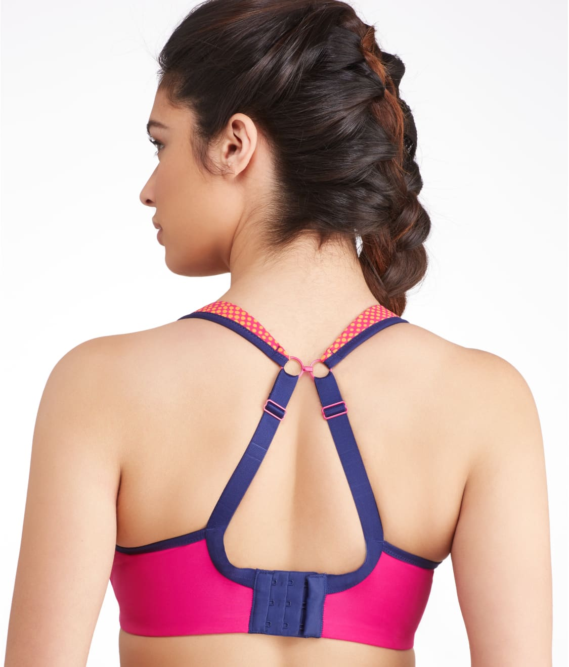 a60a435fc0d See Ultimate High Impact Underwire Sports Bra in Magenta