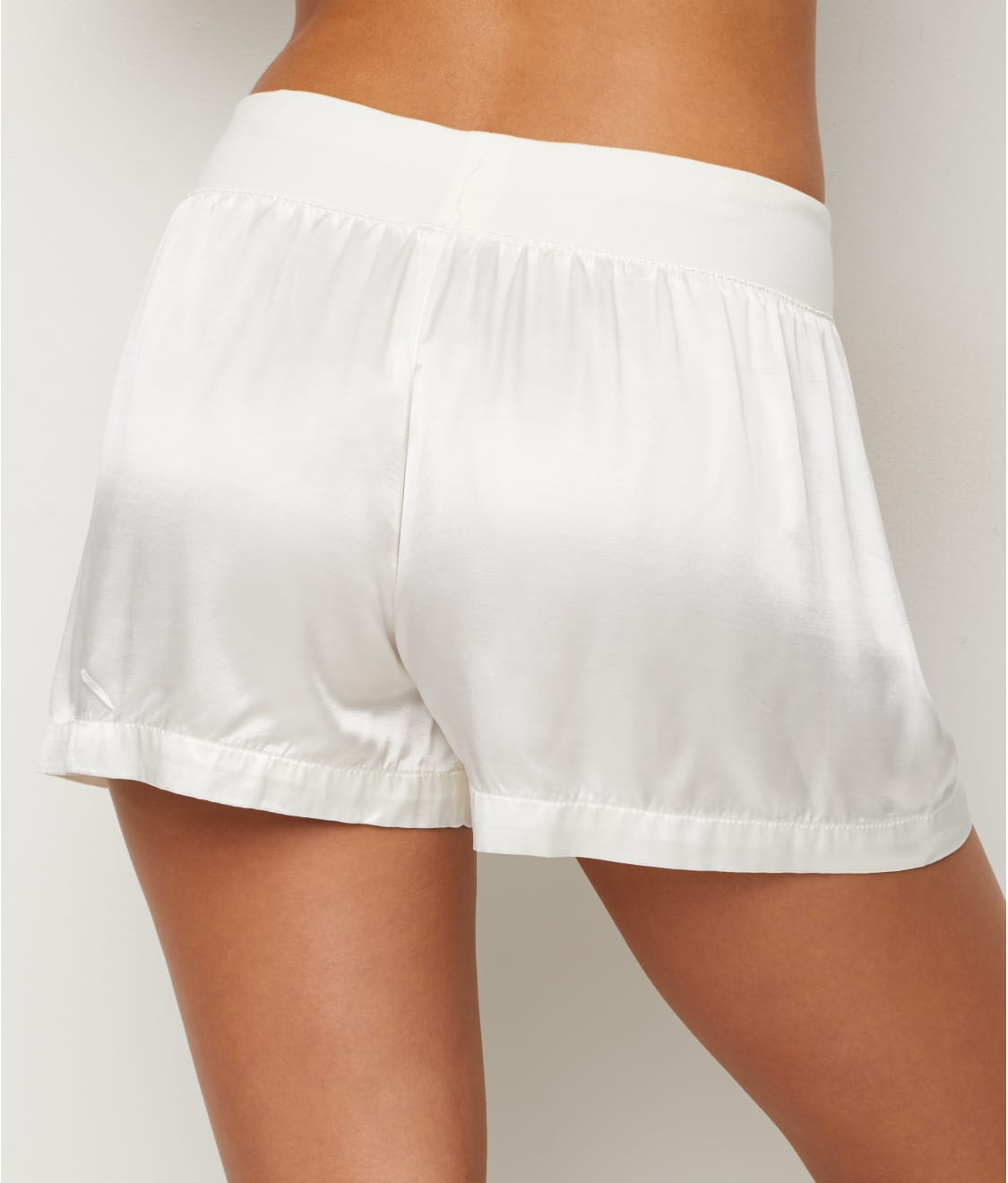 See Mikel Satin Sleep Boxer Shorts in Pearl 5b0b8a66d