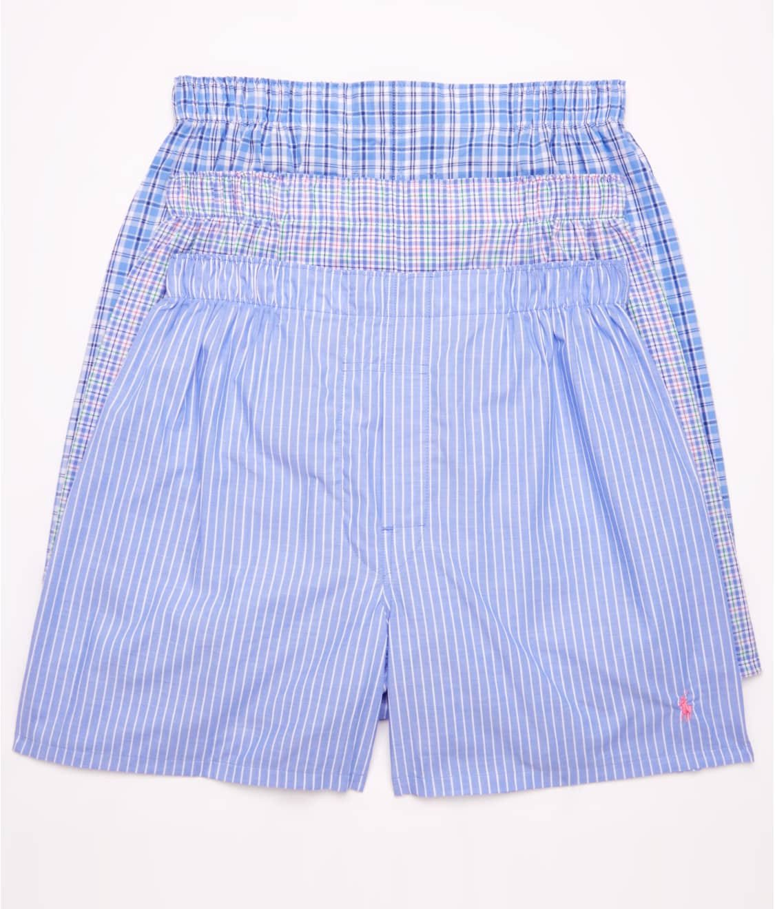 Polo Ralph Lauren Classic Woven Boxer 3 Pack Bare Necessities Lcwb
