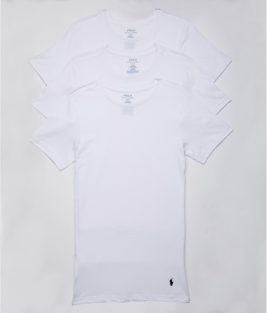 Slim Fit Cotton T-Shirt 3-Pack