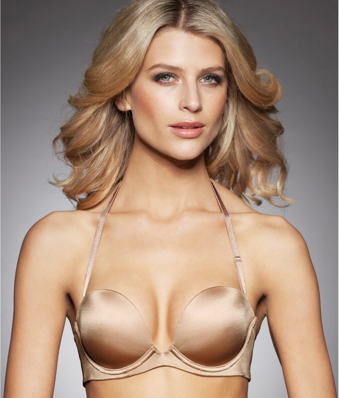 Fine Lines 6-Way Plunge Convertible Strapless Bra RL030A at ...