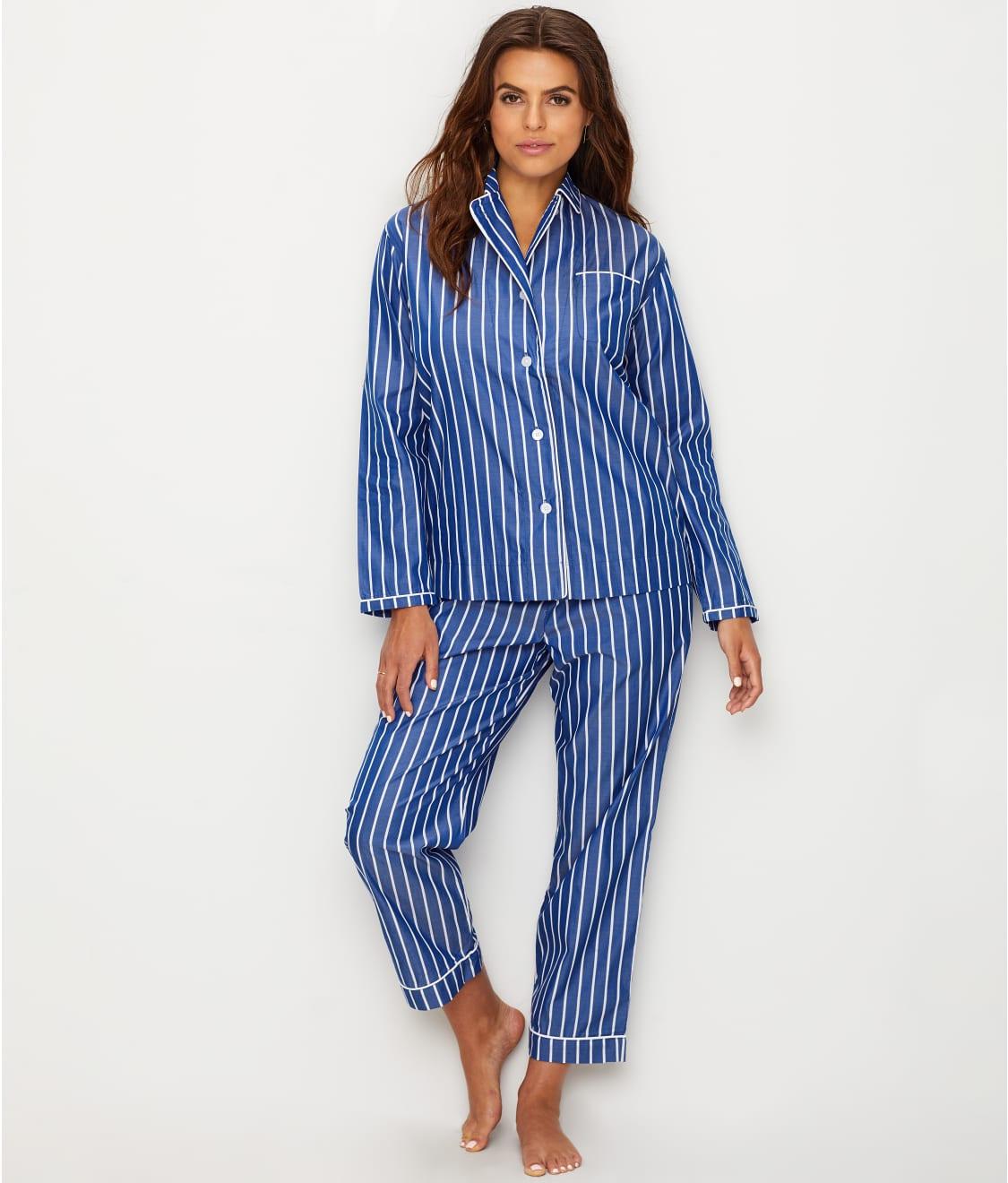 ab75cd2c69 Sleepy Jones Bishop Stripe Woven Cotton Pajama Set