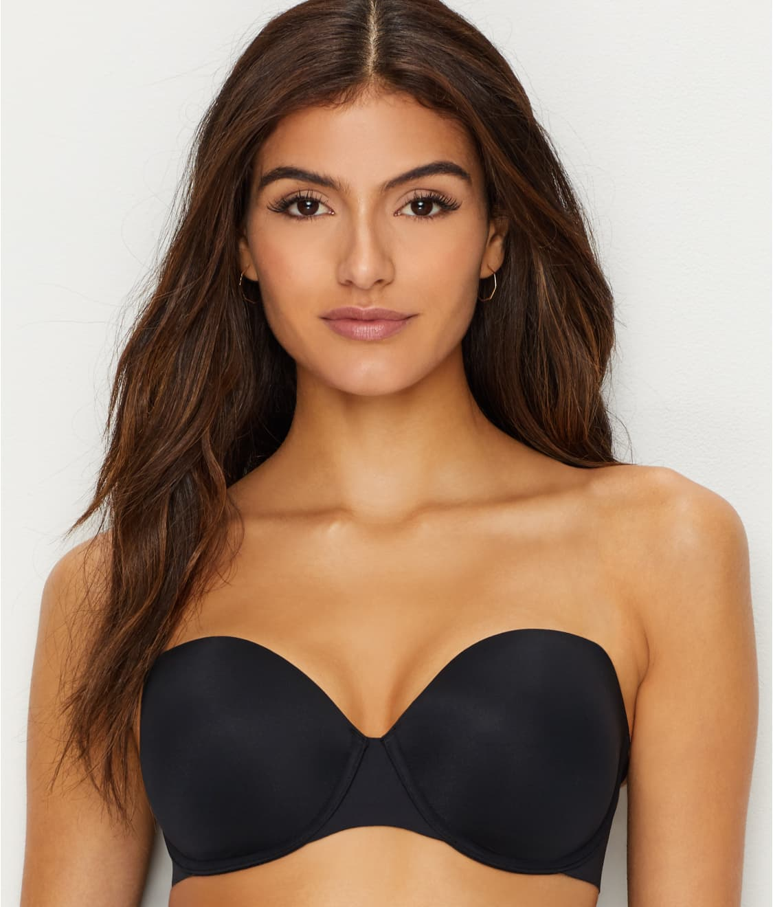 See Up For Anything Strapless Bra in Very Black 61efafe48