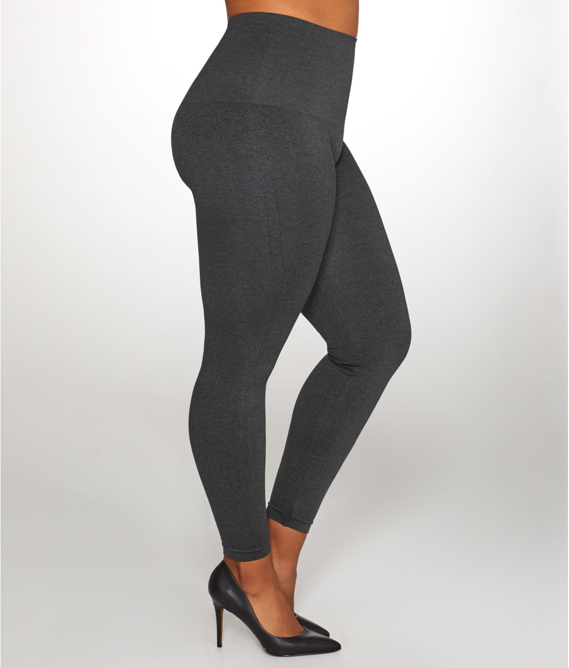 8287569234 SPANX Plus Size Look At Me Now Seamless Leggings