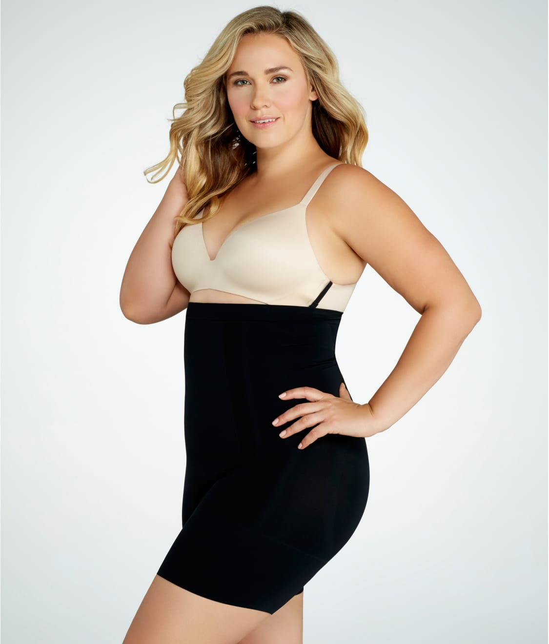 40b8f59741 SPANX Plus Size OnCore Firm Control High-Waist Thigh Shaper