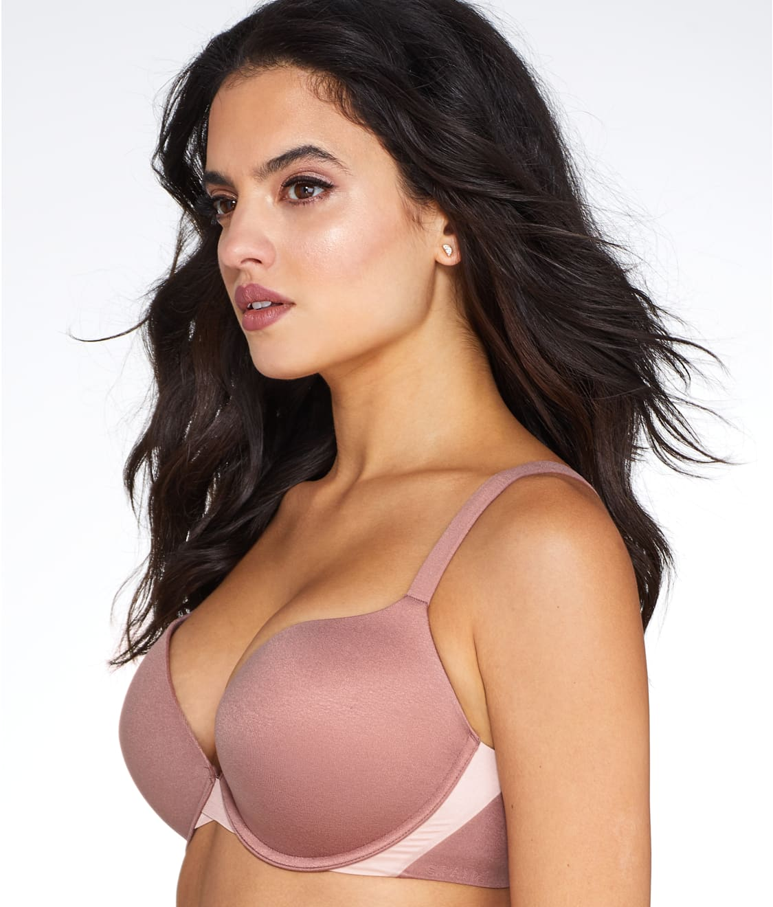 980239b693828 See Pillow Cup Signature Push-Up Plunge T-Shirt Bra in Cocoa Blush
