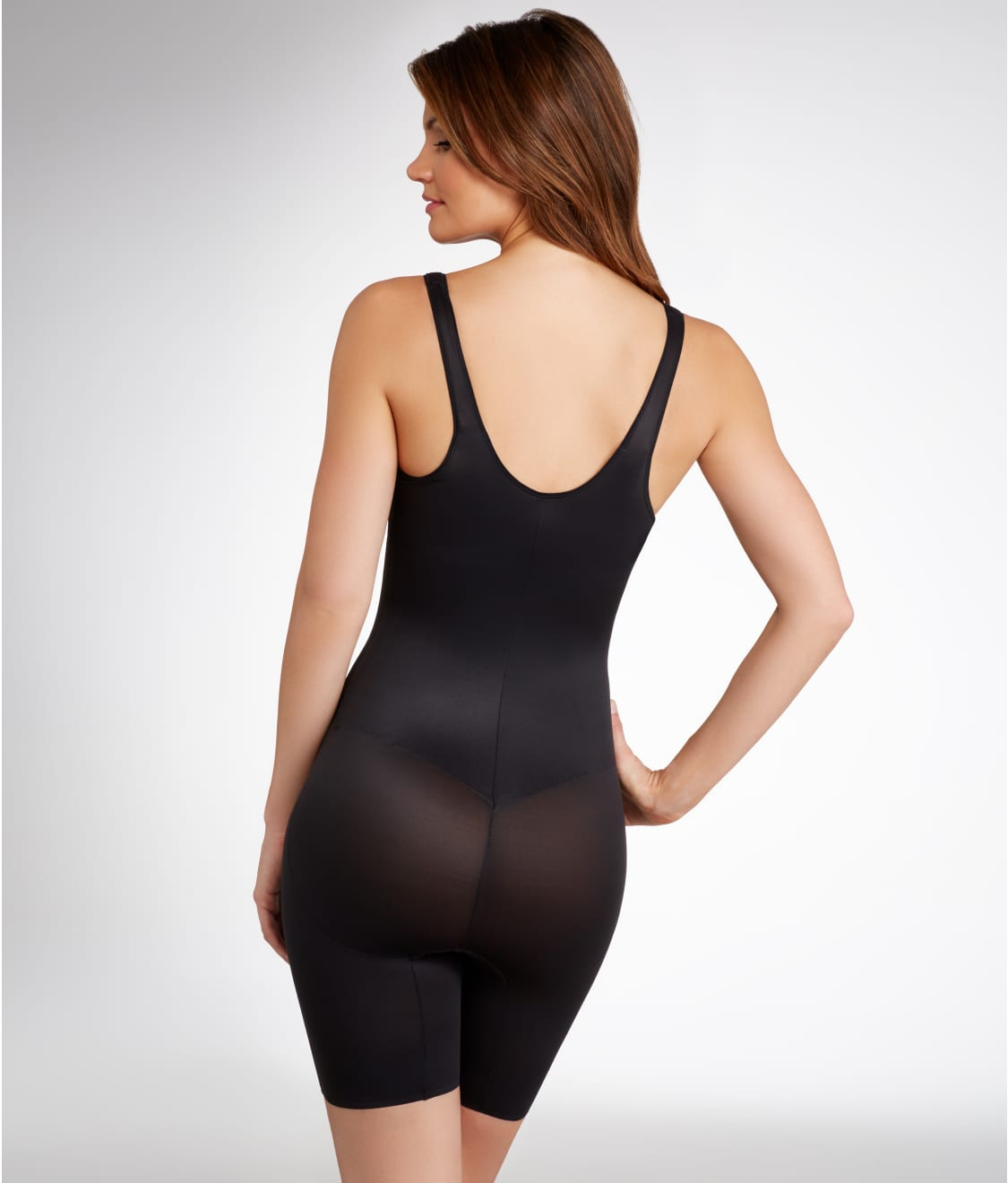 605510596a TC Fine Intimates Firm Control Open-Bust Torsette Thigh Slimmer ...