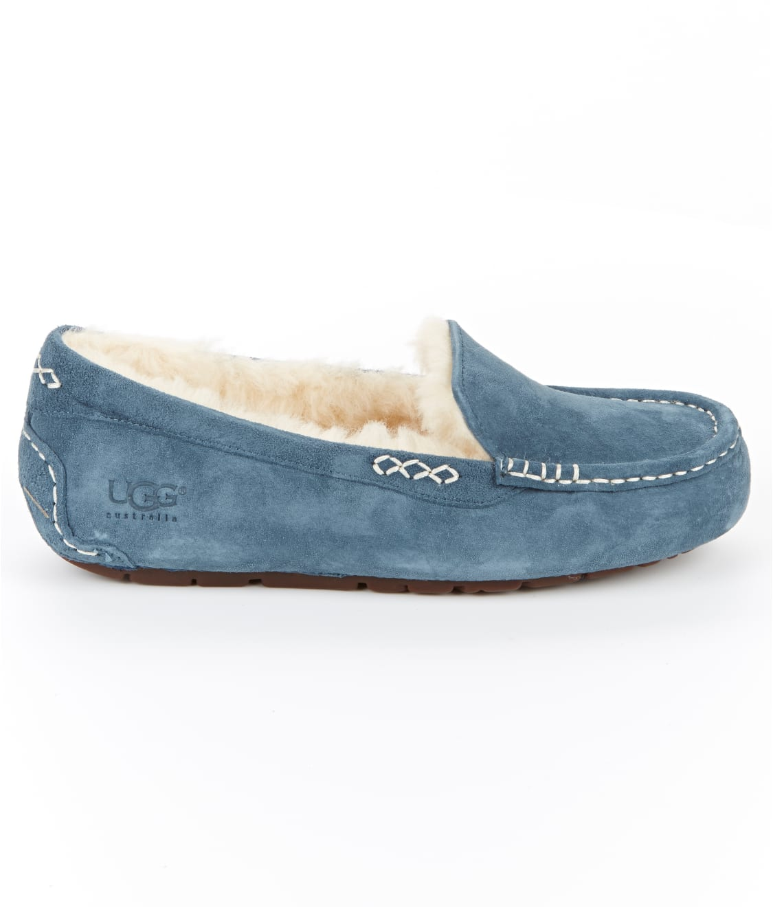 See Ansley Slippers in Dolphin Blue