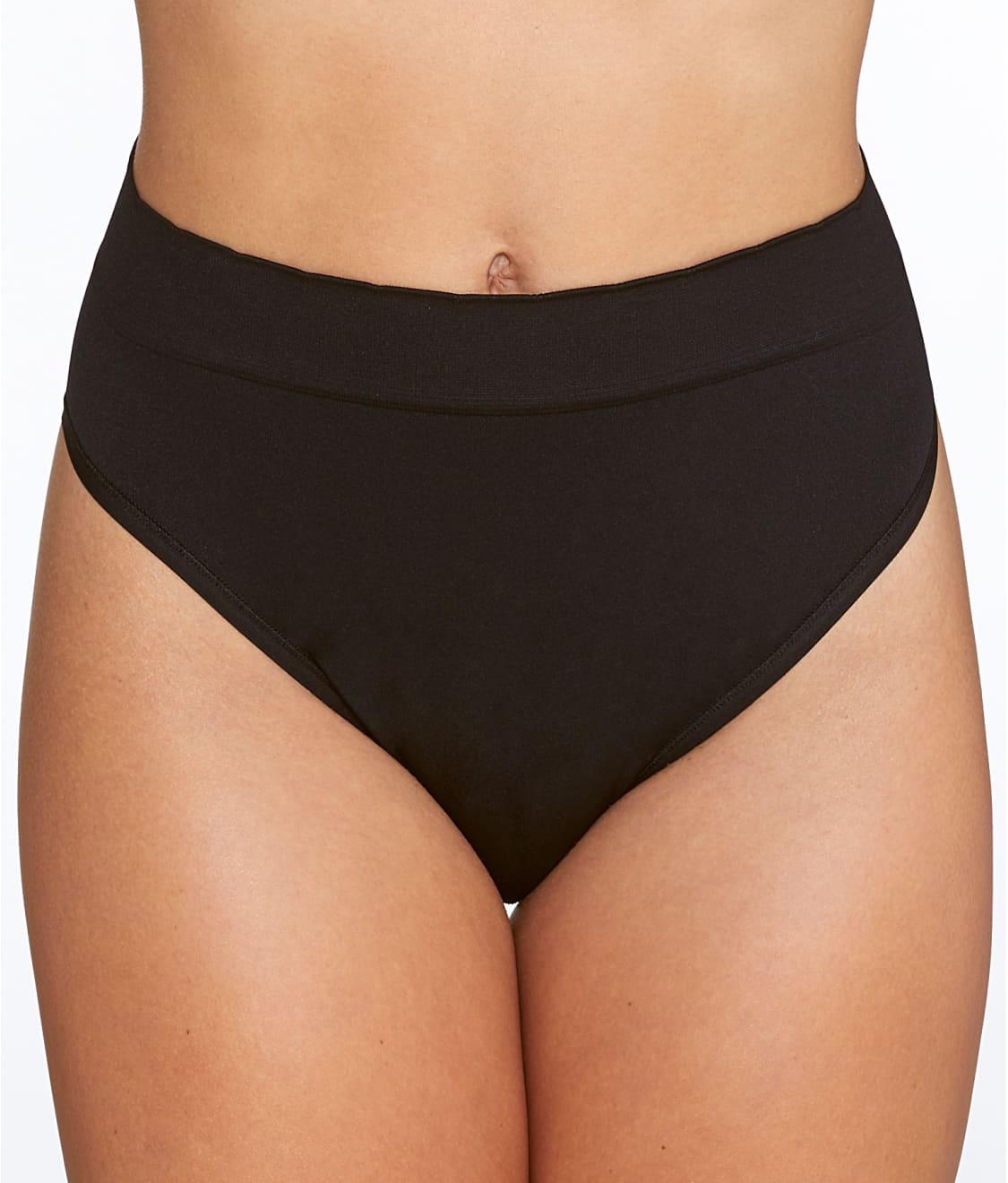 a4f6bb94993a Plus Size Nylon Hi Cut Panties
