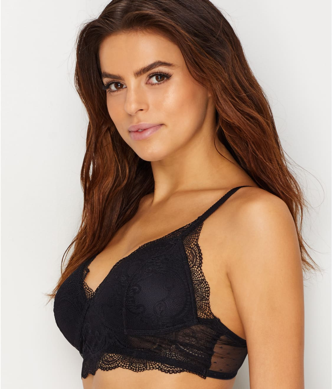 9d7a04ecfe See Flattering Lace Bralette in Black. Vanity Fair  Flattering Lace Bralette