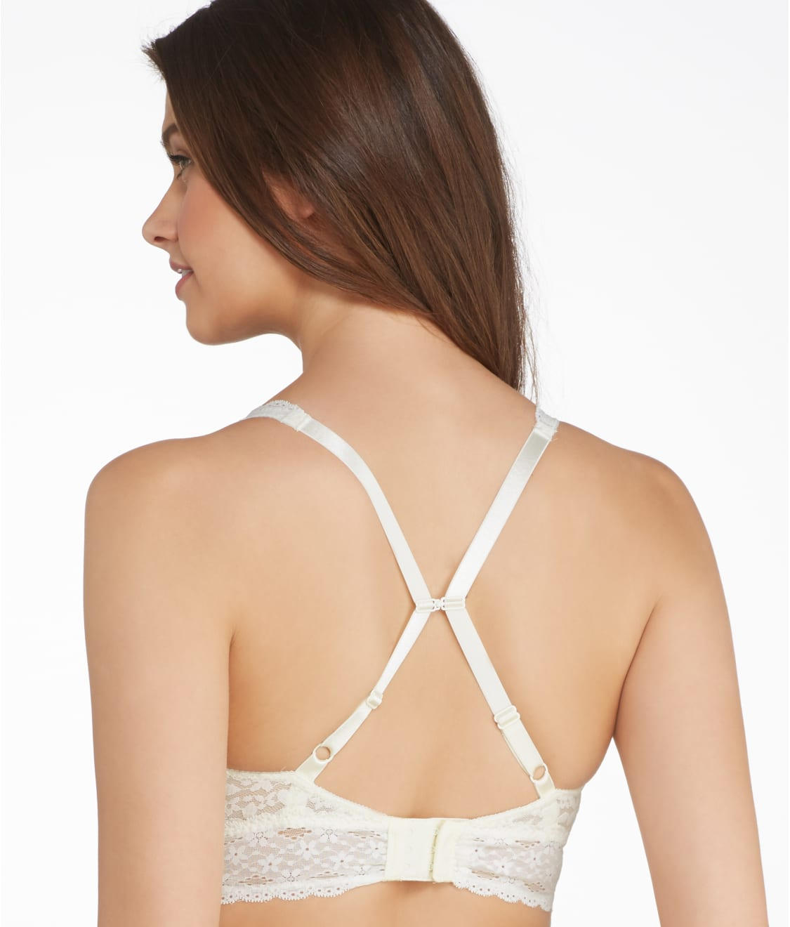 bed2ad402bb44 See Halo Lace Wire-Free Convertible Bra in Ivory