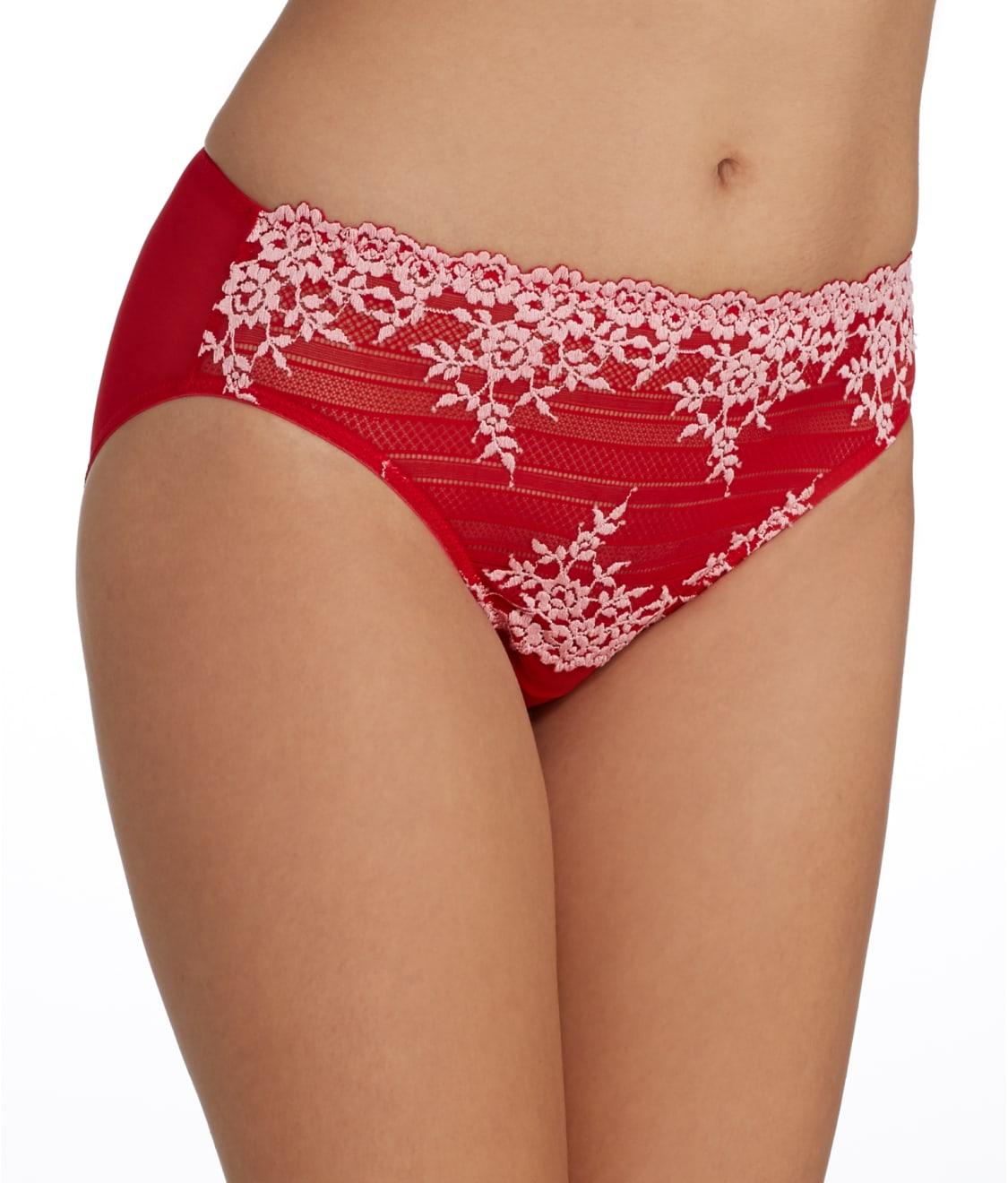 e4d413e4d671c See Embrace Lace™ Hi-Cut Brief in Tango Red
