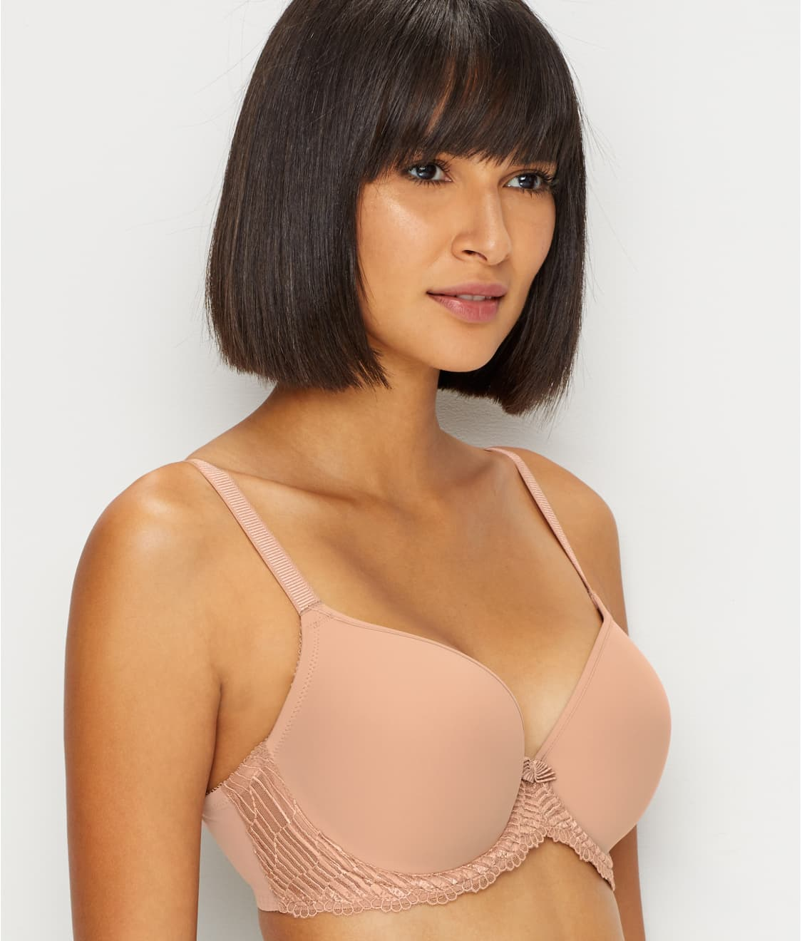 dc9e87790 See La Femme Plunge T-Shirt Bra in Rosebuck