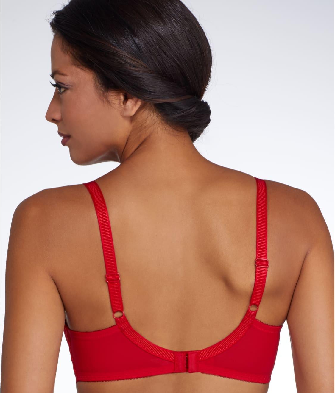 9410f44b4 See La Femme Plunge T-Shirt Bra in Tango Red