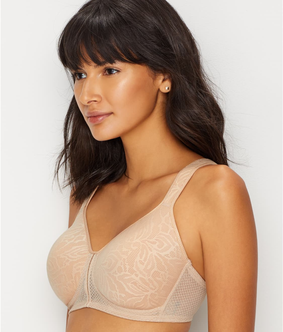 48b1babe4e745 See Awareness Wire-Free T-Shirt Bra in Sand