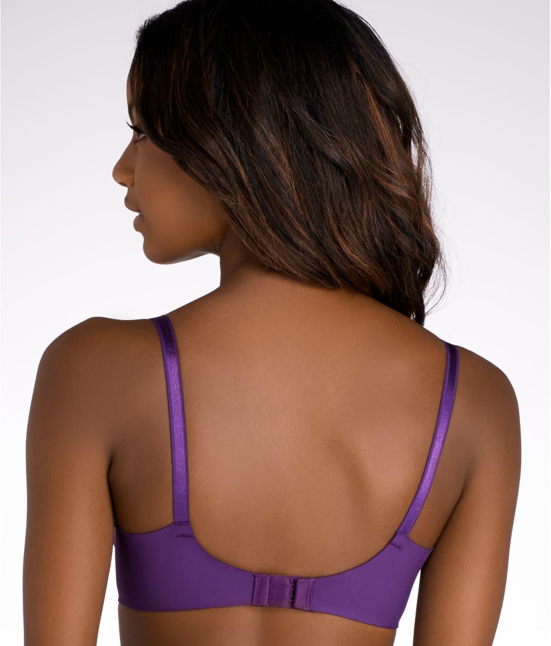 efb14d44da See No Side Effects™ T-Shirt Bra in Purple Pennant