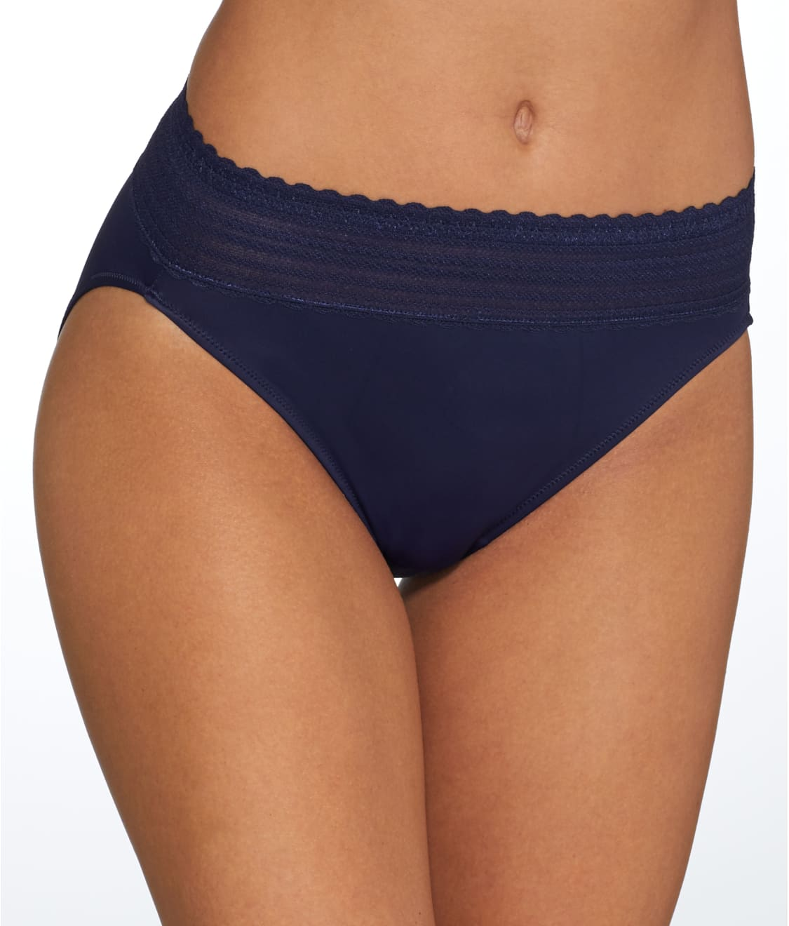 No Problems Lace Hi-Cut Brief Panty Warner/'s Women/'s No Pinching