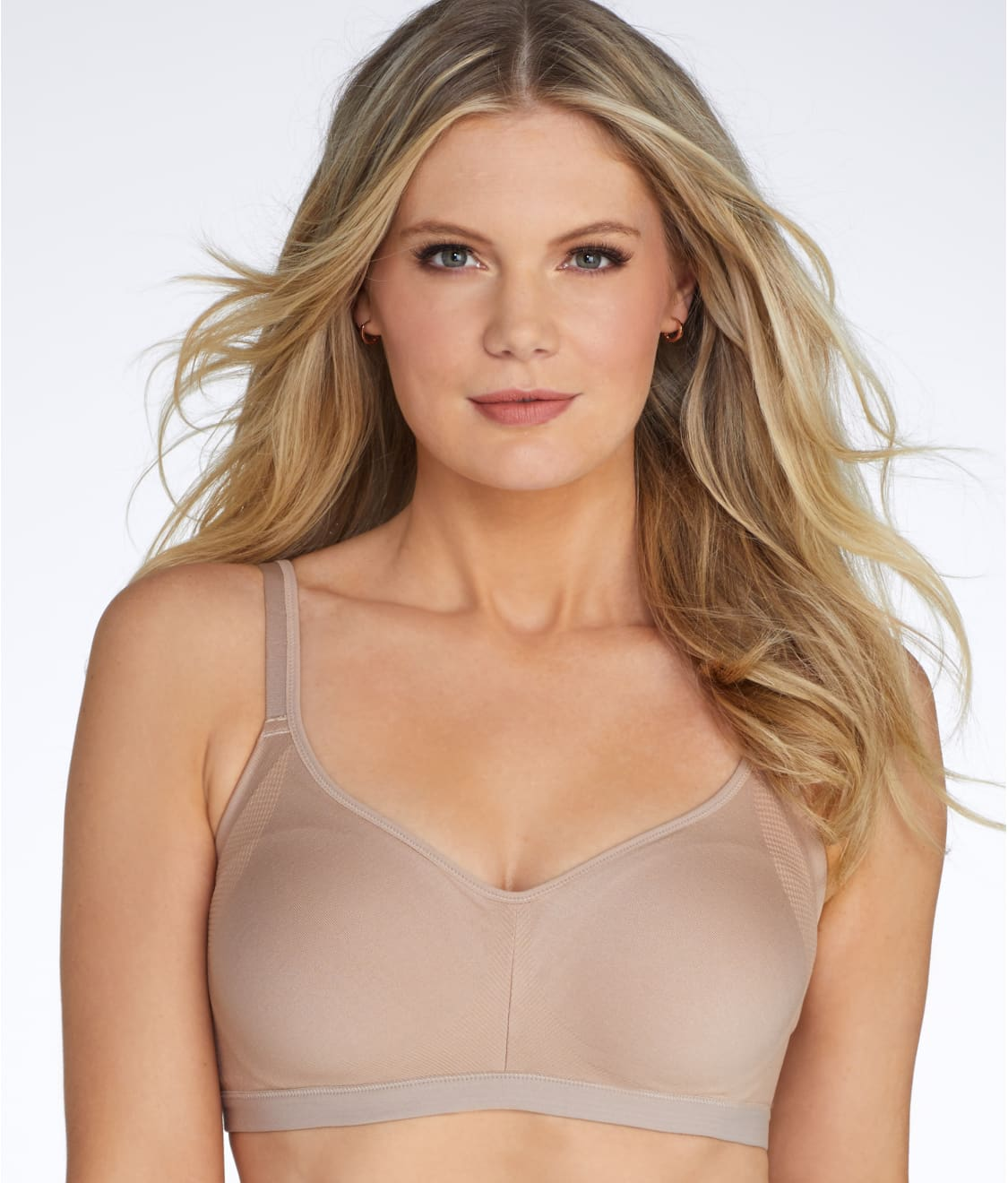 f6e3813cac See Easy Does It Wire-Free Bra in Toasted Almond