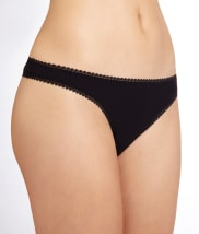 OnGossamer Cabana Cotton Low Rise Hip G Thong