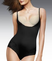 Flexees by Maidenform Comfort Devotion Firm Control Open-Bust Bodysuit