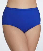 24th & Ocean: Solid Bikini Swim Bottom Plus Size
