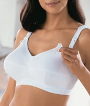 Cotton Wire-Free Nursing Bra