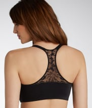 Elegant and Smooth Front-Close T-Back Bra