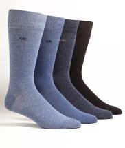 Knit Crew Socks 4-Pack