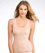 Fine Lines Pure Cotton Wide Strap Camisole
