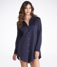 Cotton Deluxe Boyfriend Sleep Shirt