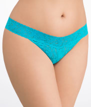 Signature Lace Original Rise Thong Plus Size
