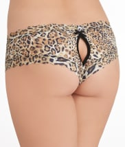 Hanky Panky: After Midnight Leopard Crotchless Hipster