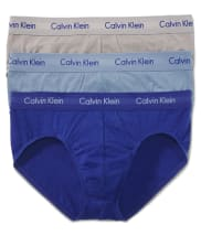 Calvin Klein NEW! Cotton Stretch Hip Brief 3-Pack