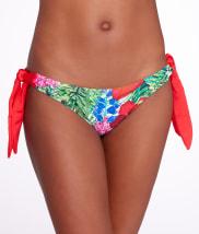 Pour Moi: Jungle Fever Tie-Side Swim Bottom