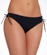 Pour Moi: LBB Tie-Side Loop Brief Swim Bottom