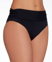 Pour Moi: LBB Fold-Over Bikini Swim Bottom