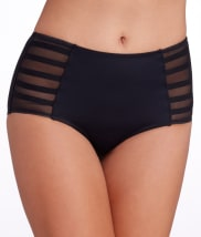 Pour Moi: LBB Control High-Waist Brief Swim Bottom