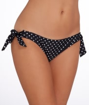 Pour Moi: Hot Spots Tie-Side Swim Bottom