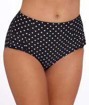 Pour Moi: Hot Spots Full Brief Swim Bottom
