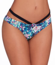 Pour Moi: Cosmic Swim Bikini with Strap