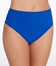 Sunsets: Ultra Blue High-Waist Swim Bottom